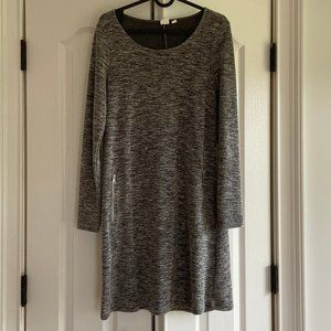 Gap XS Gray Cotton Dress